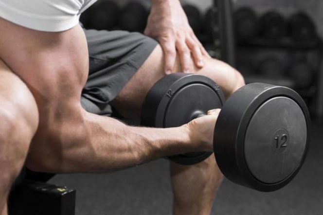 Isolation Barbell Curls